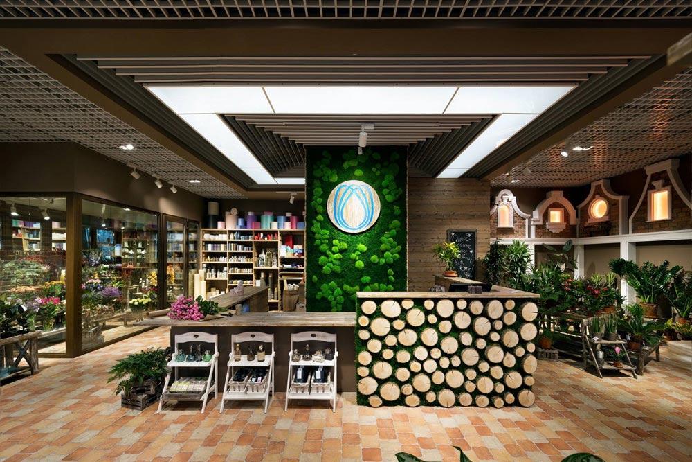 магазин цветов и декора